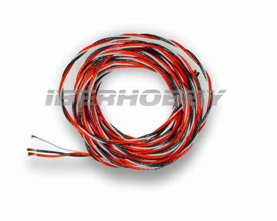 CABLE SERVO TRENZADO PTE 0,50 mm² 5 mts.