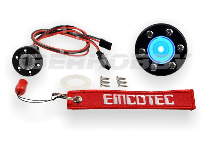 ELECTRONIC SECURITY GAS-CAP SWITCH