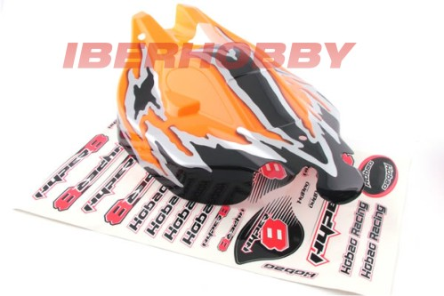 BODY SHELL HYPER 8.5 ORANGE