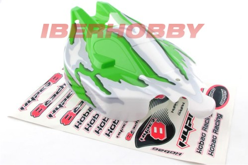 BODY SHELL HYPER 8.5 GREEN