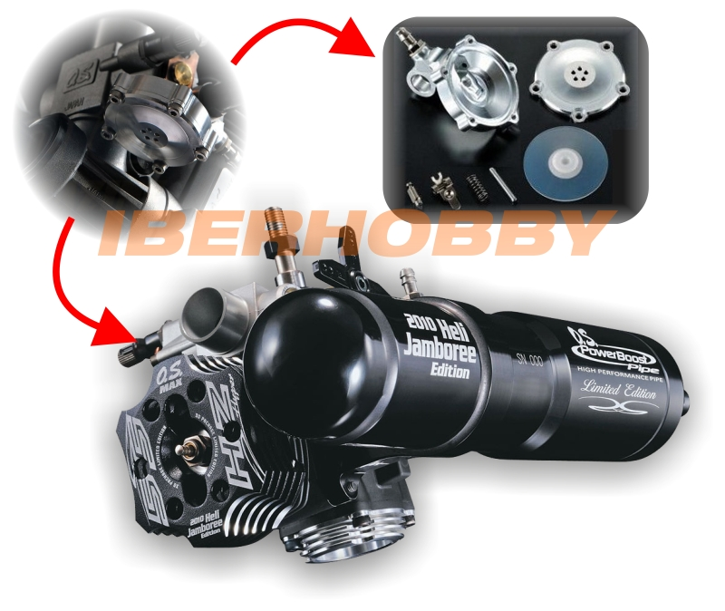 MOTOR OS 55HZ LIMITED ED. CON PIPA POWERBOOST + SISTEMA DRS